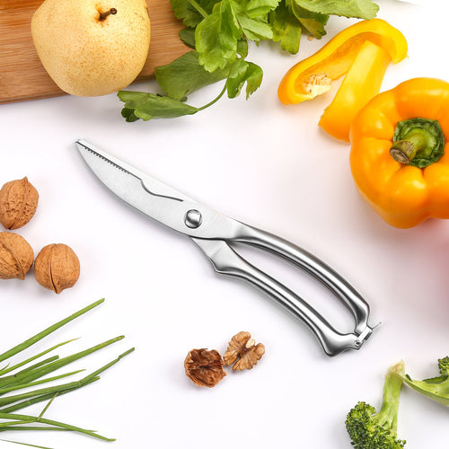 Kitchen Ultra Sharp Spring Loaded Scissors
