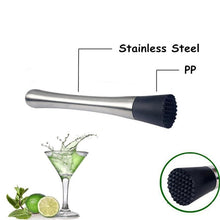 Load image into Gallery viewer, Stainless Steel Cocktail Muddler