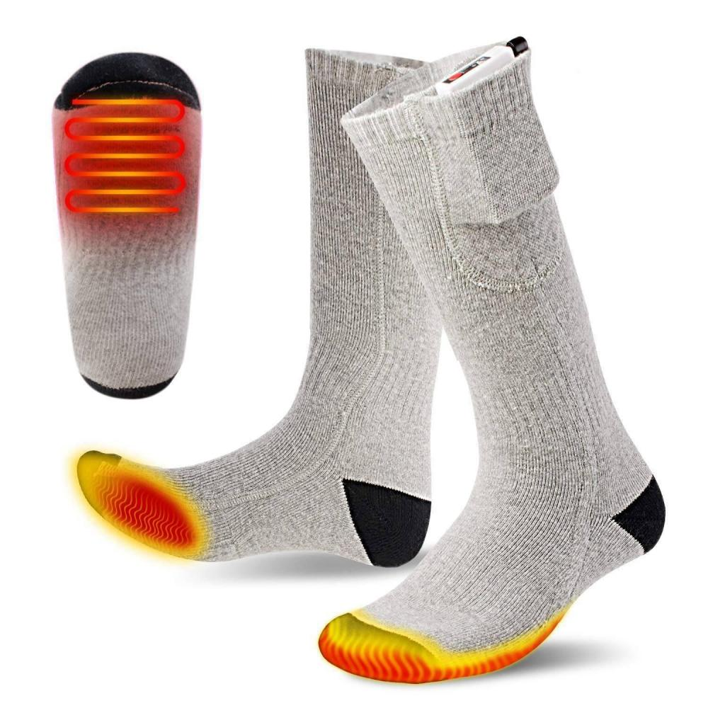 Rechargeable & Washable Lithium Battery Heating Socks