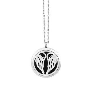 30mm Magnetic Silver Aroma Necklace