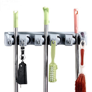 ABS Wall Mounted Mop Organizer