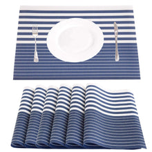 "Load image into Gallery viewer, 4Pcs/Set 17.7""X11.8"" Washable Placemats"