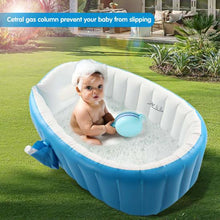Load image into Gallery viewer, Baby Inflatable Bathtub Portable