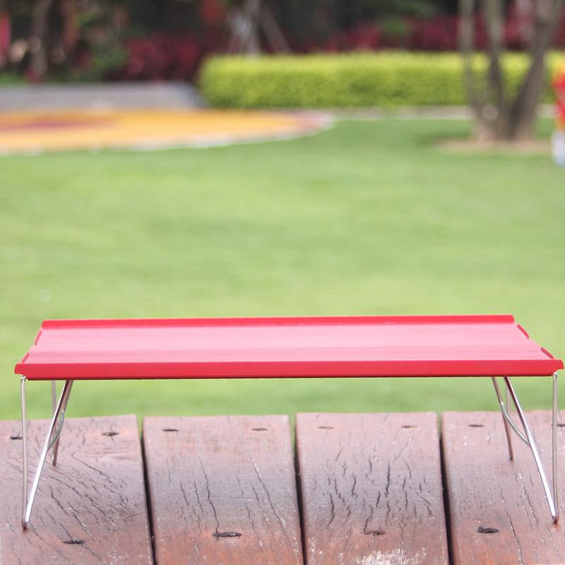 Outdoor Mini Folding Table Camping Portable Barbecue Table