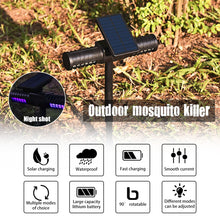 Load image into Gallery viewer, Solar Mosquito Killer Lamp Outdoor IPX5 Waterproof Garden Lamp Villa Outdoor Mosquito Trap Lawn Lamp Ground Plug
