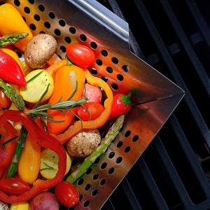 Stainless Steel Vegetable Grill Basket