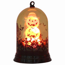 Load image into Gallery viewer, 1pc Candle Lamp Halloween Scene Layout Decoration Night Light