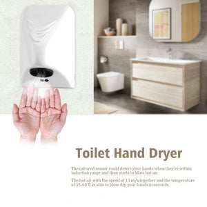 800W Air Hand Dryer Automatic  Sensor