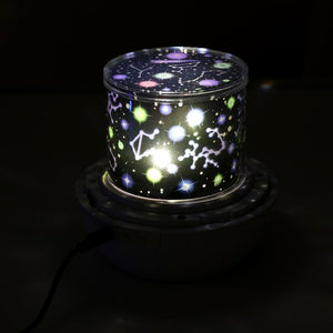 Kids Night Light Projector Star Light Projector with USB Cable 360 Degree Rotation Lamp Bedroom