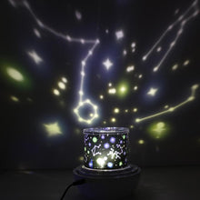 Load image into Gallery viewer, Kids Night Light Projector Star Light Projector with USB Cable 360 Degree Rotation Lamp Bedroom