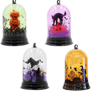 1pc Candle Lamp Halloween Scene Layout Decoration Night Light