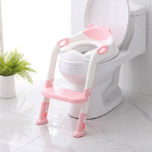 Load image into Gallery viewer, Baby Toilet Ladder Folding Seat Toilet