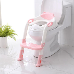 Baby Toilet Ladder Folding Seat Toilet