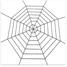 Load image into Gallery viewer, Halloween Spiders Web Stretchy Cobweb Spider House Cosplay Props