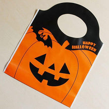 Load image into Gallery viewer, 50Pcs Halloween Candy Bag Party Gift Sack Pumpkin Bags