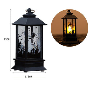 Halloween Home Decoration Hanging Lighthouse Flame Night Light