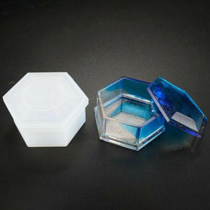 Silicone Hexagon Jewellery Storage