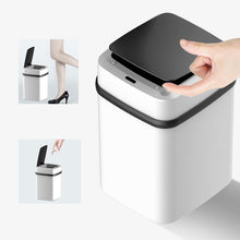 Load image into Gallery viewer, Home smart trash can automatic induction with lid living room kitchen bedroom bathroom infrared sensor