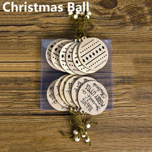 12pcs Christmas Tree DIY  Decoration