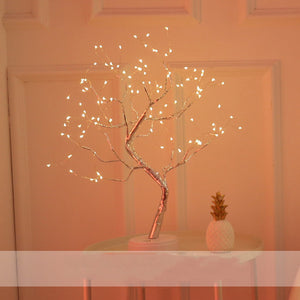 36LED Creative Decoration Night Light Led Light Touch Screen Copper Wire Lamp