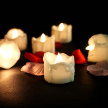 Load image into Gallery viewer, 12 Flameless Votive Decor LED Candles Lamp