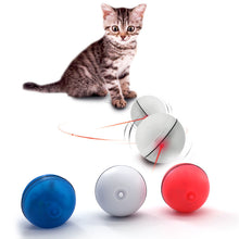 Load image into Gallery viewer, Cat Dog LED Laser Red Light Electronic Rolling Ball