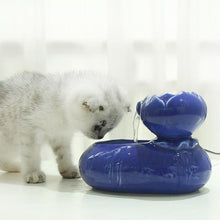 Load image into Gallery viewer, Ceramic Cat Dog Pet Automatic Circulating Water Dispenser