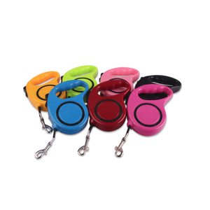 7 Colors Automatic Retractable Pet Traction Rope