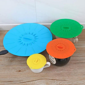 5Pcs/Pack Silicone Bowl Cover
