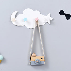 4-Hooks ABS Wall-mounted Hanger