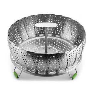 11 Inch Stainless Steel Folding Steamer Basket