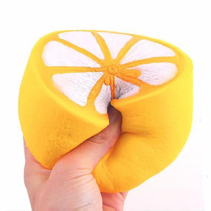 Lemon Shaped Squishy Stress Reliever Toy