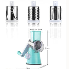 Load image into Gallery viewer, Multifunction Stainless Steel Rotary Grinder