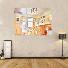 Load image into Gallery viewer, 3Pcs/Set 3D Acrylic Wave Form Mirror Wall Sticker