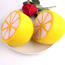 Load image into Gallery viewer, Lemon Shaped Squishy Stress Reliever Toy