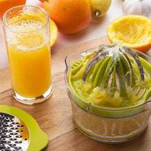 Load image into Gallery viewer, Manual Juicer With Built-in Measuring Cup and Grater