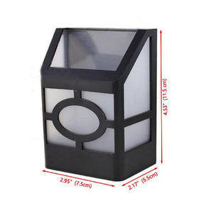 Solar Powered LED Wall Light