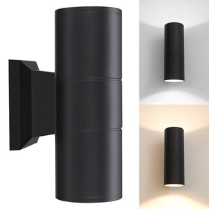 Dual-head Cylinder COB LED Wall Light