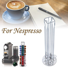 Load image into Gallery viewer, 40-Capsules Rotating Coffee Stand