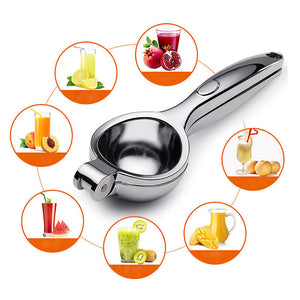 Stainless Steel Manual Fruit Squeezer