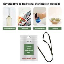 Load image into Gallery viewer, Portable Air Sterilization Card Disinfection Sterilization Lanyard Protection