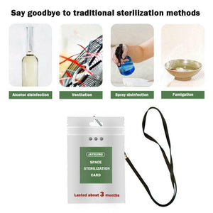 Portable Air Sterilization Card Disinfection Sterilization Lanyard Protection