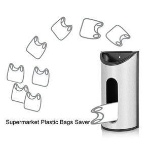 430 Stainless Steel Grocery Bag Dispenser