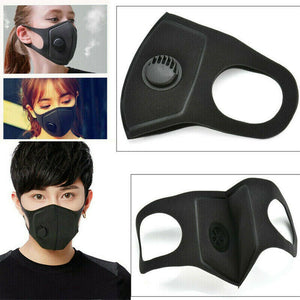 1PC PM2.5 Breathable Anti-dust Haze Face Mouth Cover Filter Value Washable