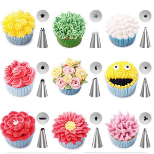 42Pcs/Set DIY Cake Frosting Decorating Tools