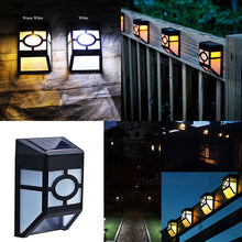 Load image into Gallery viewer, Solar Powered LED Wall Light