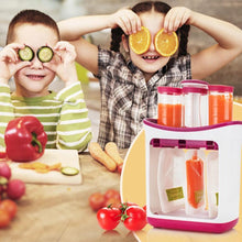 Load image into Gallery viewer, Baby Puree Maker With 10 One-off Squeeze Pouches