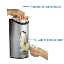 Load image into Gallery viewer, 430 Stainless Steel Grocery Bag Dispenser