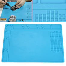 Load image into Gallery viewer, Silicone Heat Resistant Tool Soldering Mat