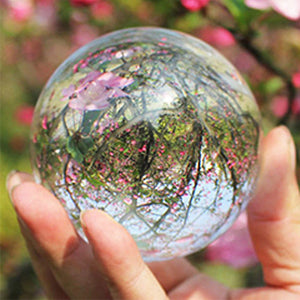 80mm Glass Transparent Crystal Ball